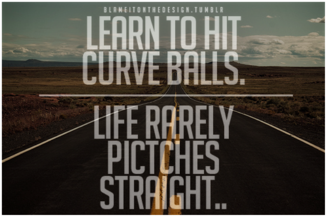 #Spirit : When Life Throws Curveballs…