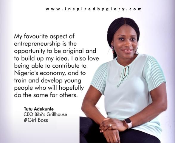 #GirlBoss: Tutu Adekunle of Bibi's Grillhouse