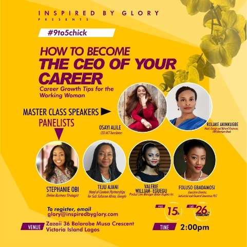#9to5Chick: How to Become the CEO of your Career| Meet the Speakers