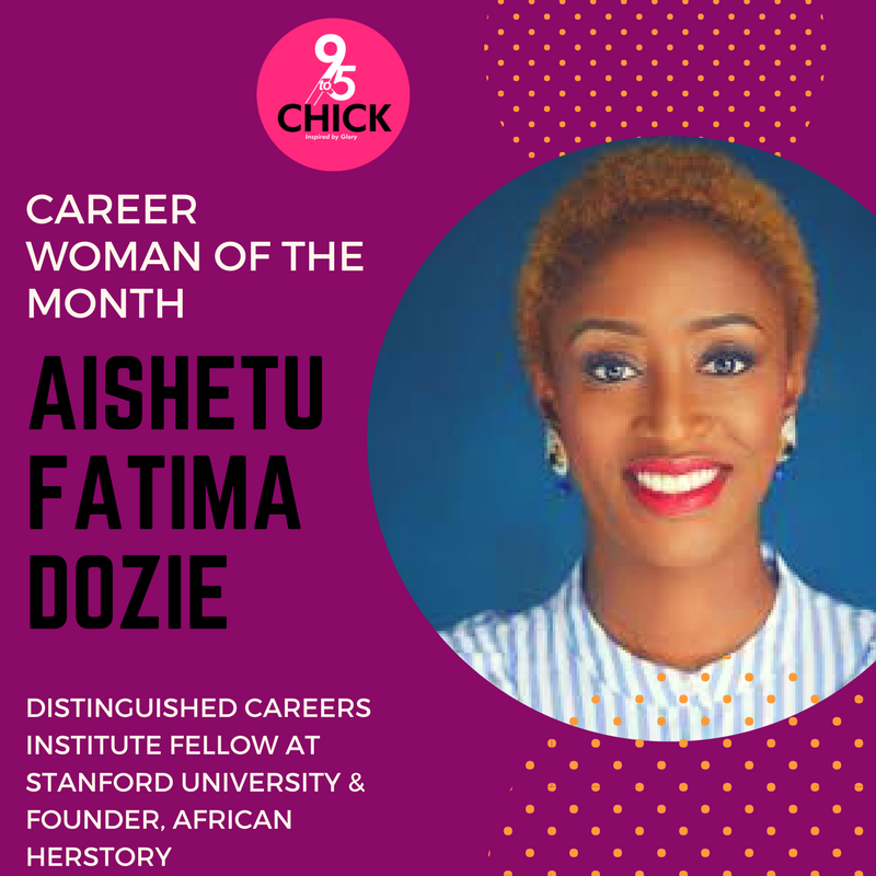 CAREER WOMAN OF THE MONTH