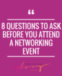 Should I go? 8 Ways to Know if an Event is Right for you
